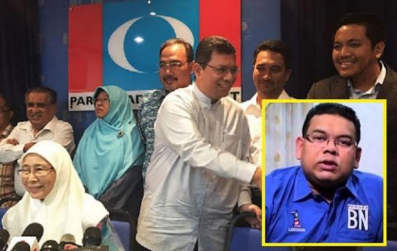 Lokman Adam Doakan Mahathir Dan Muhyiddin Keluar Umno