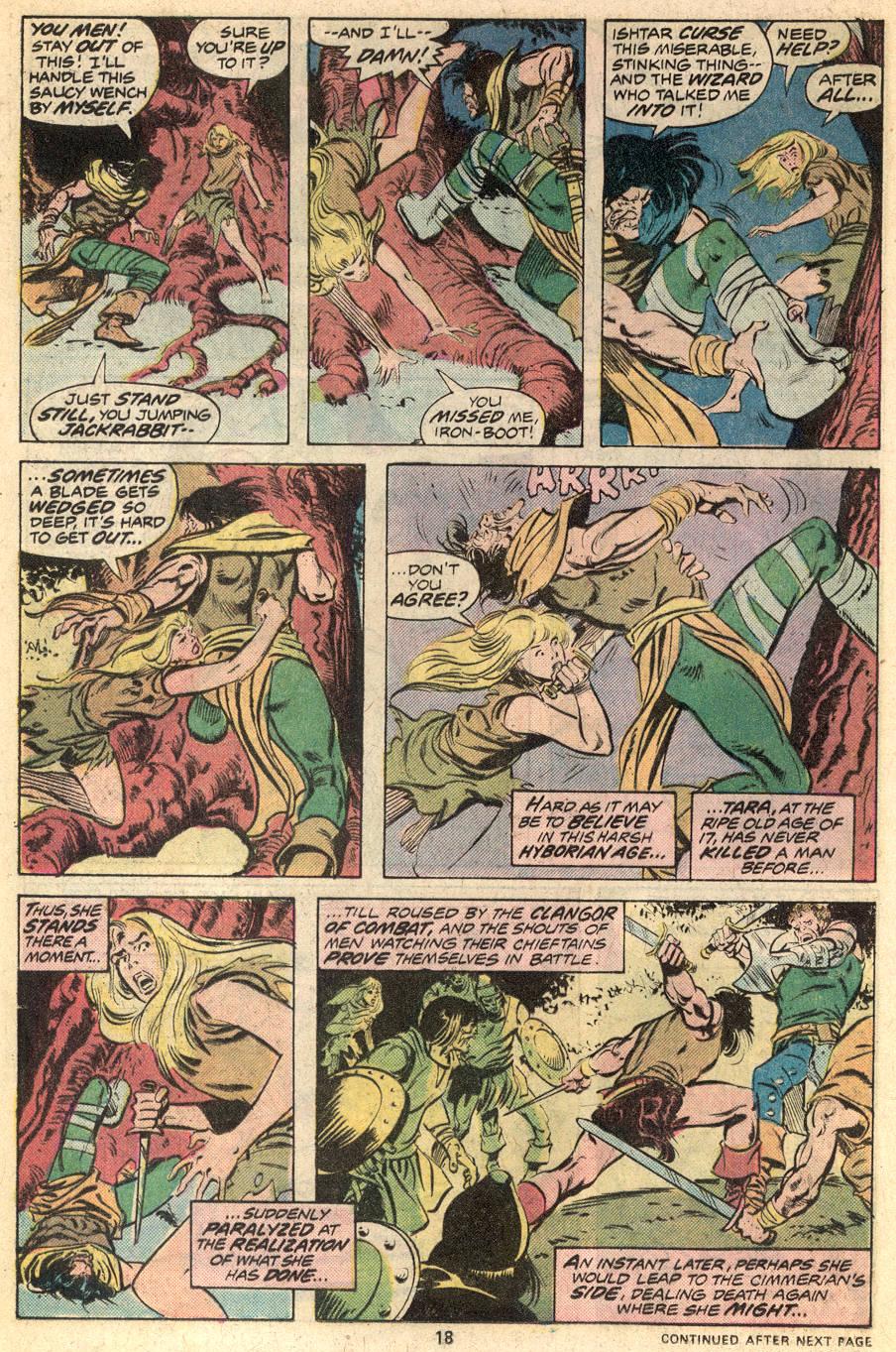 Conan the Barbarian (1970) Issue #53 #65 - English 13