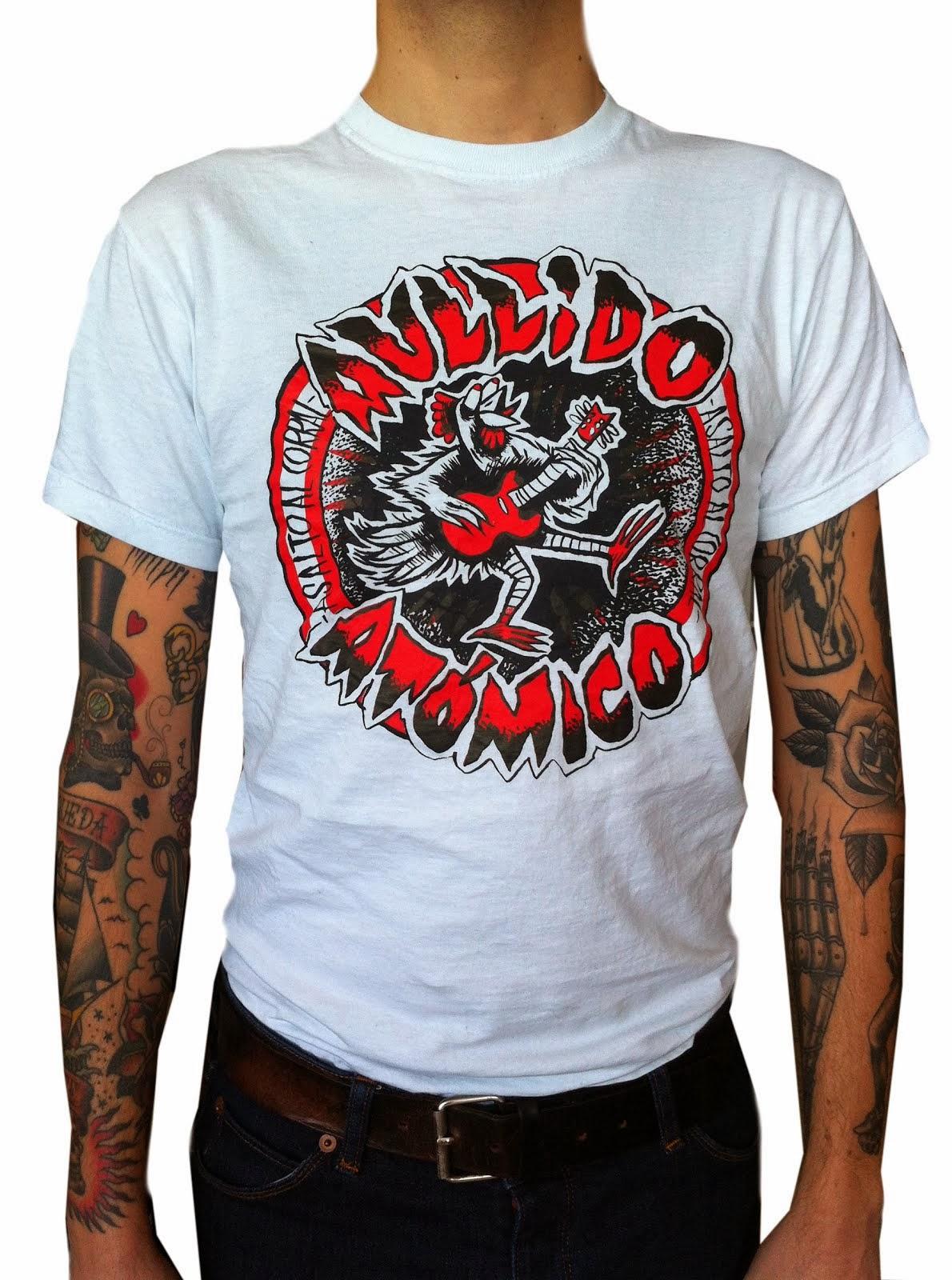T-shirt aullido Atómico