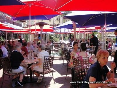patio at The Prado at Balboa Park in San Diego, California