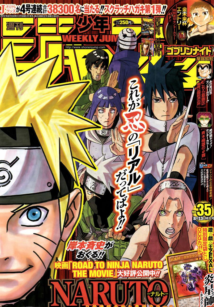 Naruto chap 595 Trang 1 - Mangak.info