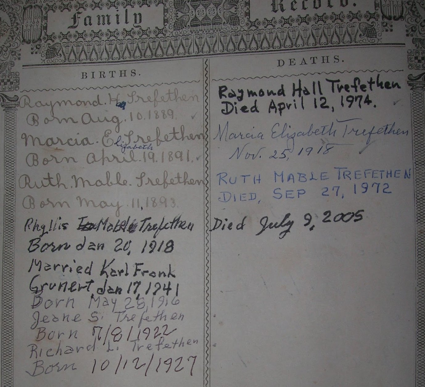 heirlooms reunited  family bible of the balch and