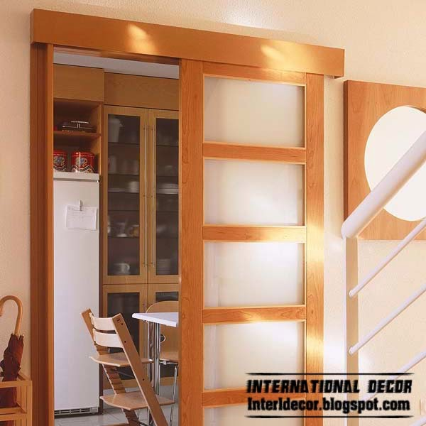 How to choose a sliding door for different rooms and for Different door designs
