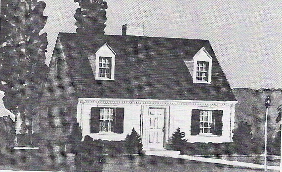 Yes virginia sears homes were built after 1940 for Cape cod model homes