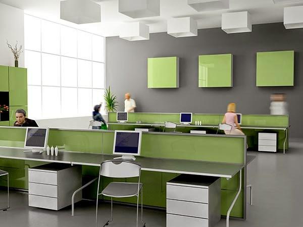 desain interior kantor modern 2014