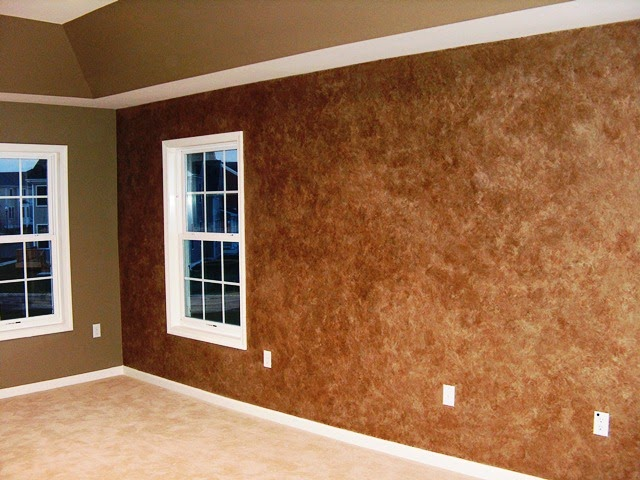 Faux wall painting ideas for What paint finish for living room