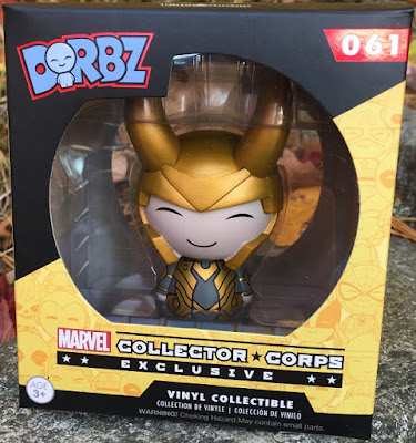 Marvel Collector Corps Exclusive Loki Dorbz Vinyl Figure by Funko