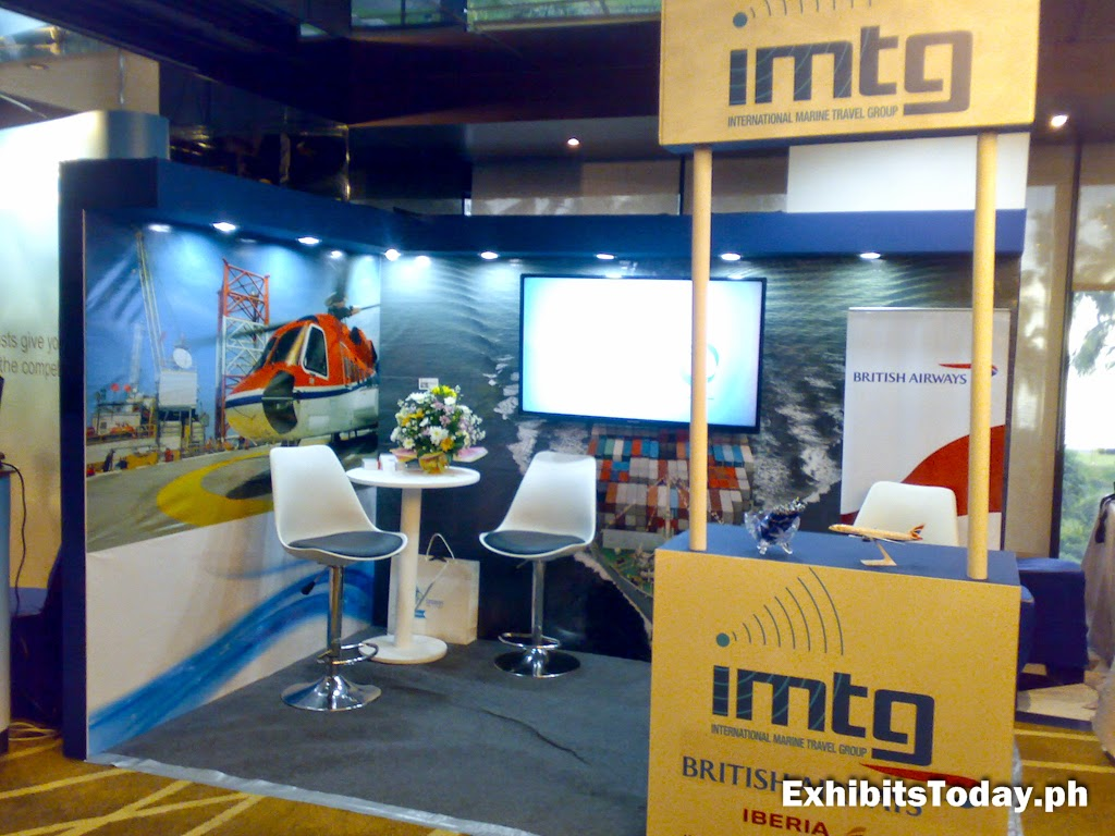 IMTG Exhibit Booth