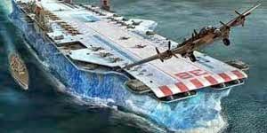 kapal induk dari es