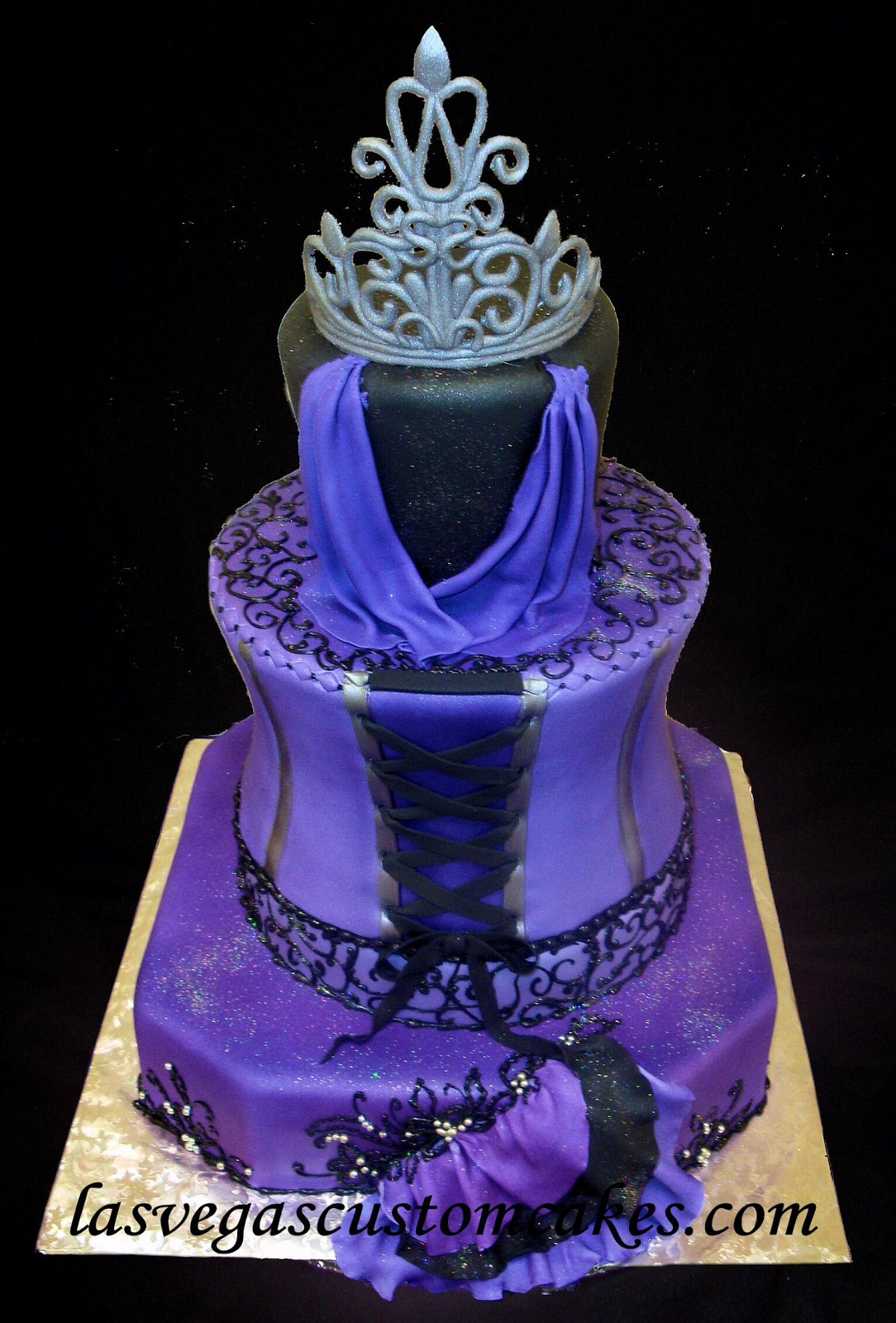 Purple Quinceanera Cakes 2013 Viewing Gallery