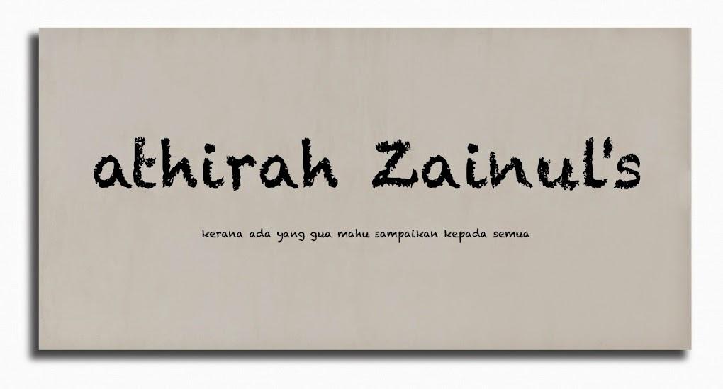 athirah zainul's