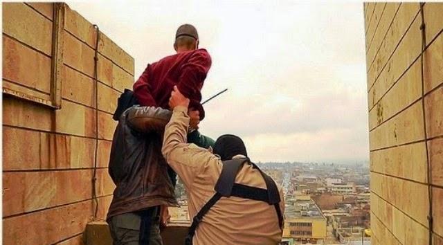 11 Gambar Mengerikan Pesalah Dihukum Terjun Dari Bangunan Tinggi