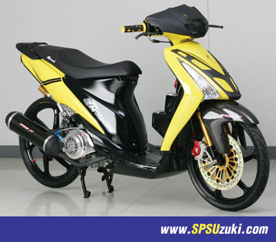 Photo of Modifikasi Suzuki Spin