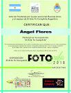 Diplomas participación El Arte Te CompArte, Argentina
