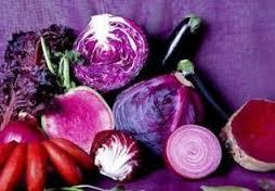 Rahsia disebalik warna buah dan sayur, sayur berwarna ungu