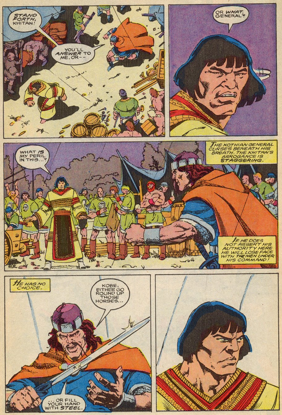 Conan the Barbarian (1970) Issue #195 #207 - English 11