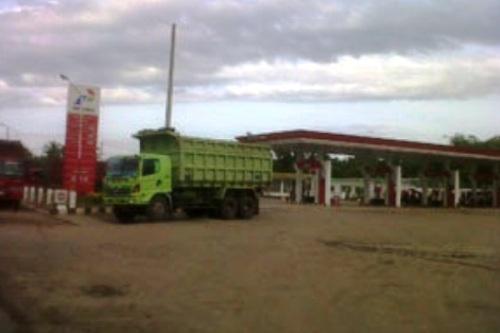 SPBU Kalibalangan. Kotabumi Lampung Utara