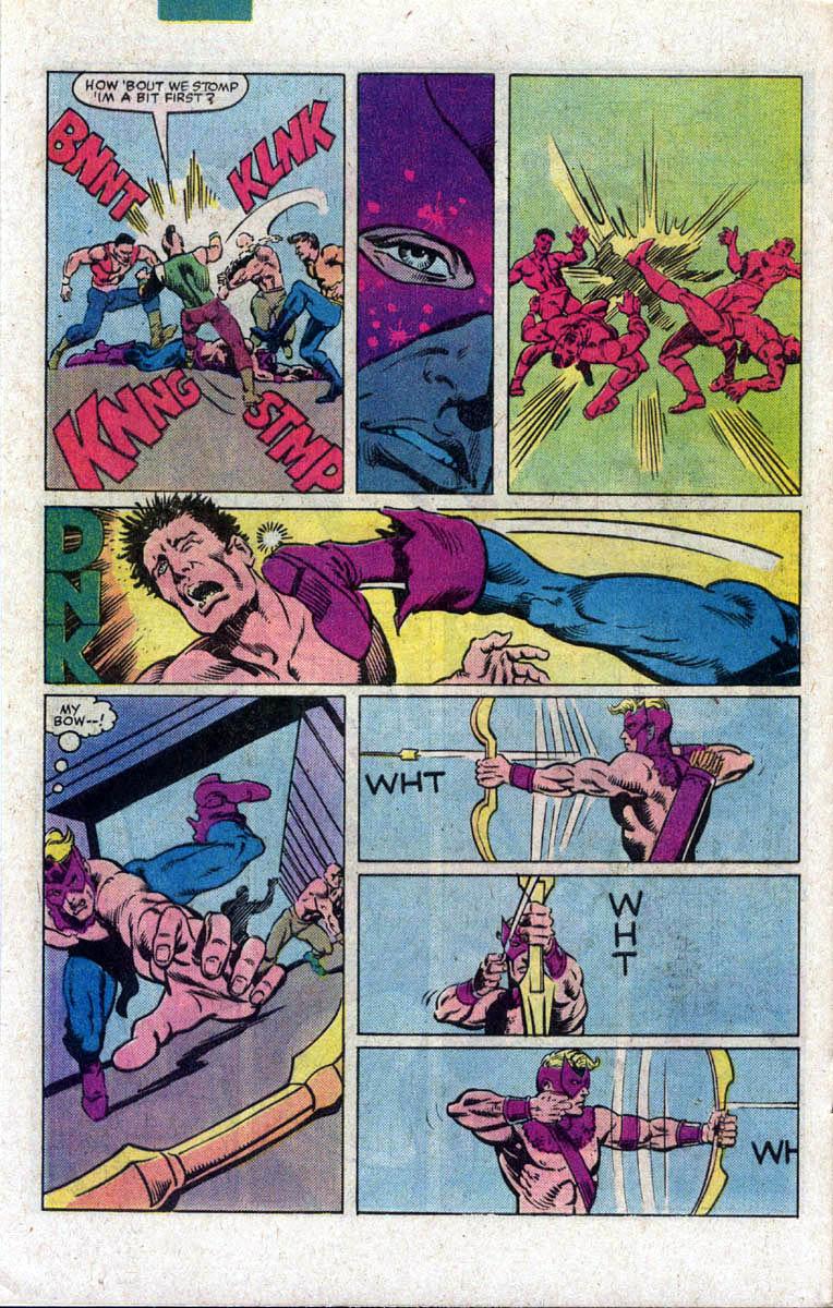 Hawkeye (1983) Issue #2 #2 - English 6