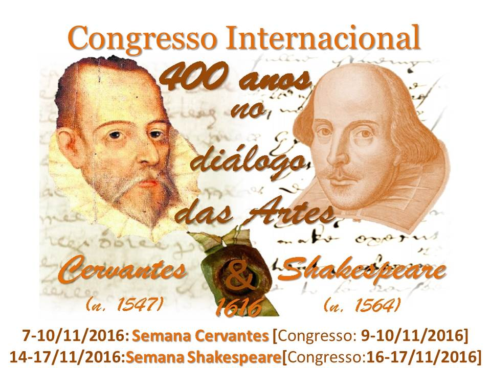 Congresso Internacional CERVANTES & SHAKESPEARE 2016