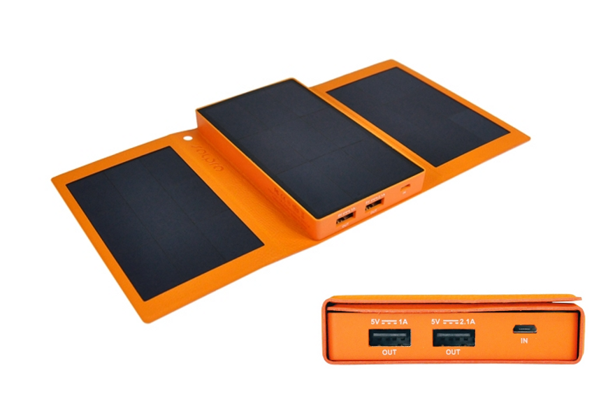 Helios - Solar Powered Portable Charger - Image