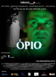Alexandre Contini vive um personagem forte em Ópio