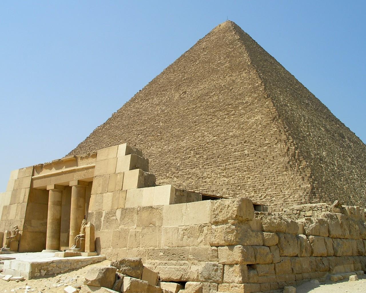 las piramide por dentro: