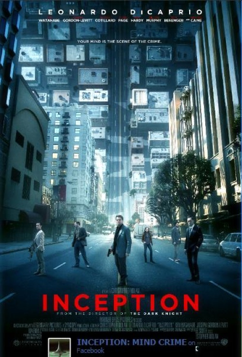 Inception 2010 Hindi dubbed A2Z Entertainment 500x736 Movie-index.com
