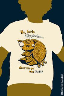 Glyptodon tshirt