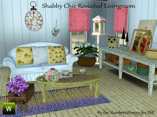 shabby chic sims 2 submited images. Black Bedroom Furniture Sets. Home Design Ideas