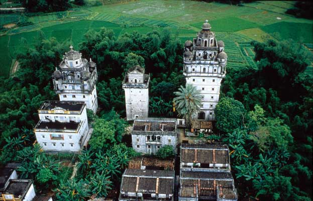 World Heritage Kaiping Diaolou and Villages