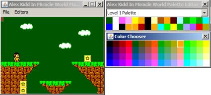 Editor paleta de colores