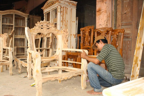 membuat mebel furniture perabot