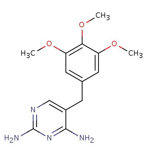 Struktur Trimetoprim