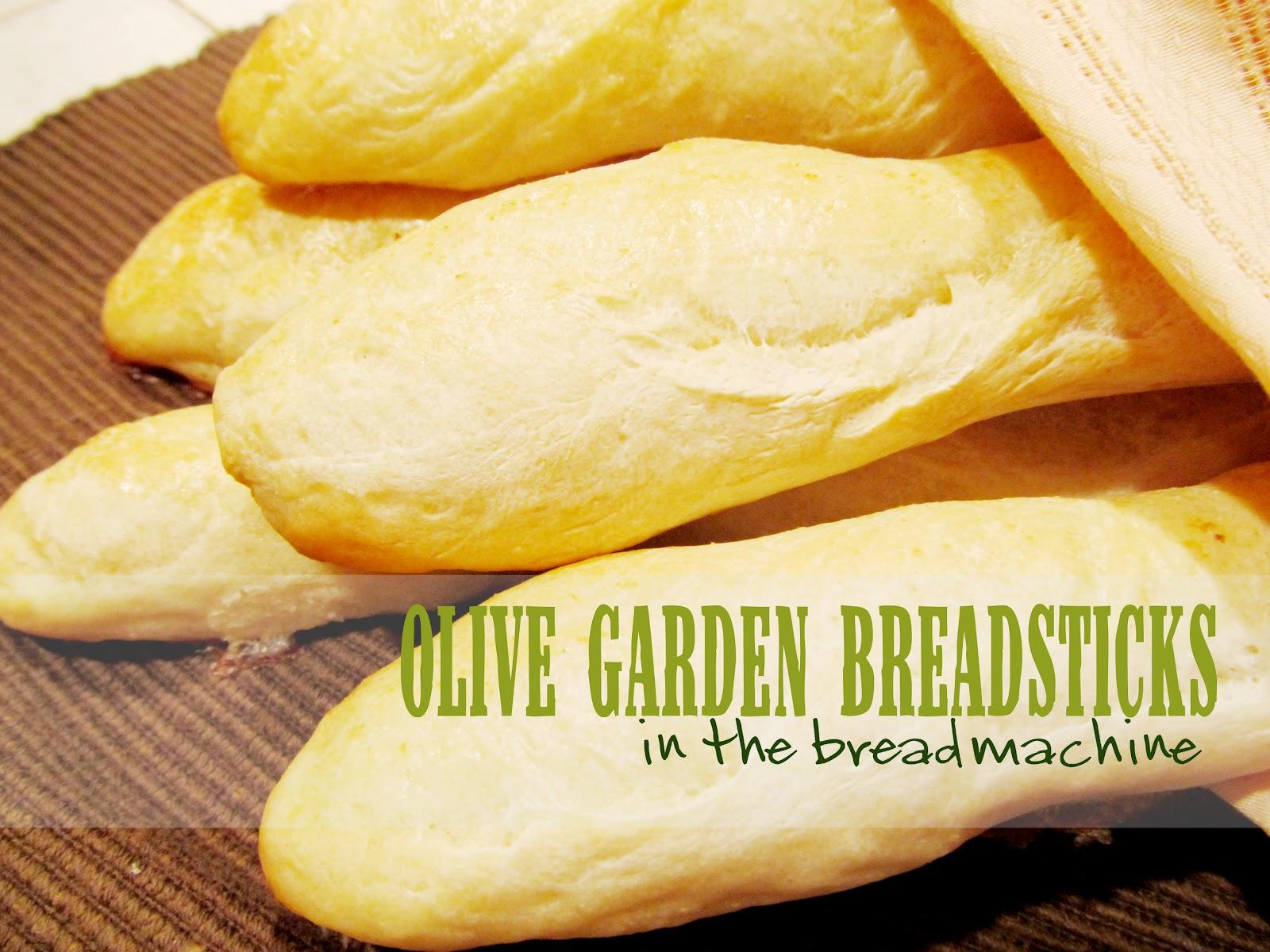 Lovely Little Snippets Olive Garden Breadsticks In The Bread Machine
