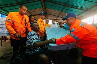 Activados 163 refugios para atender a familias afectadas por temporada de lluvias