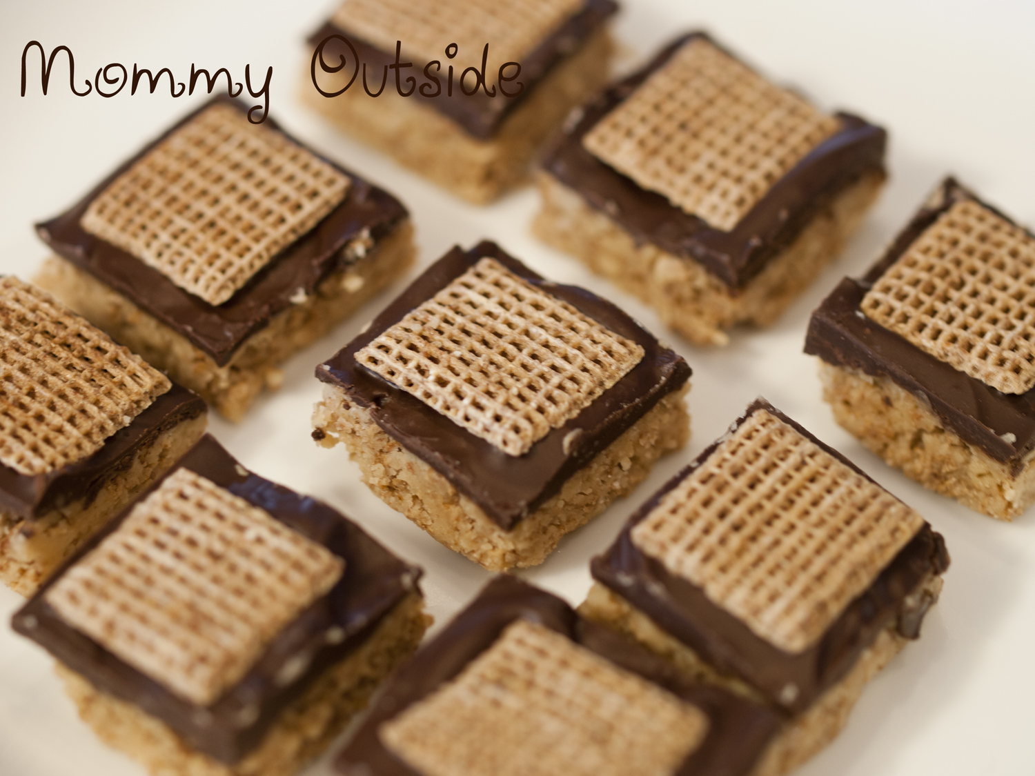 Shreddies No Bake Peanut Butter Treats Recipe Outside