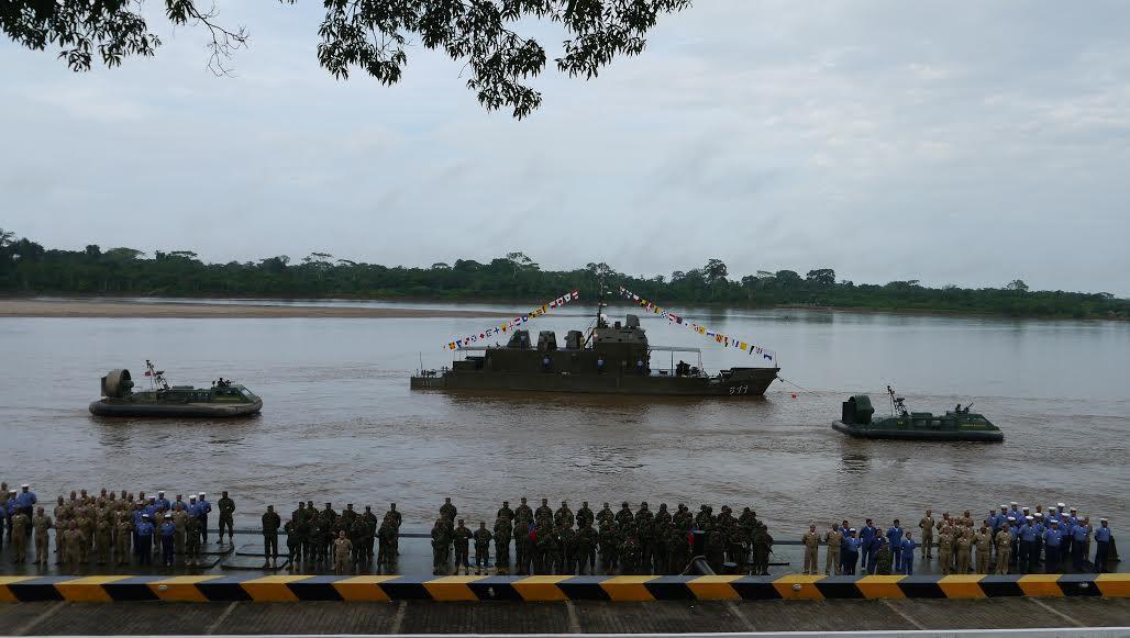La Flotilla Fluvial del Sur se encuentra actualmente dotada de patrulleras rápidas, lanchas patrulleras de rio, cañoneros, remolcadores fluviales, aerodeslizadores de río y bongos, para cumplir con las necesidades operacionales y de abastecimiento de las tropas que hacen presencia en las regiones de Caquetá, Putumayo y Amazonas
