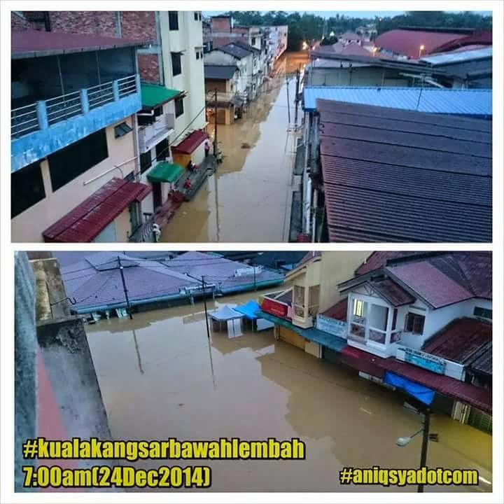 banjir 2014, kuala kangsar