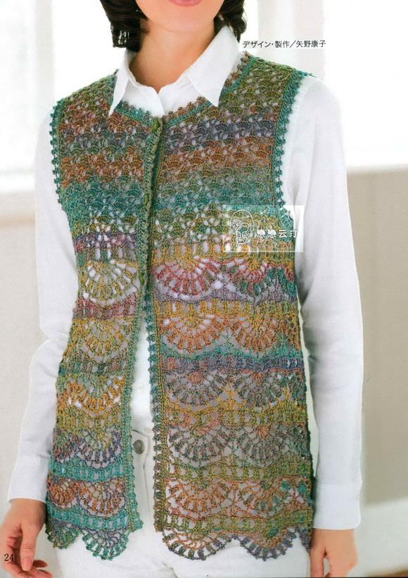 Free Crochet Patterns Vests Beginners : Crochet Sweaters: Crochet Vest Pattern - Classy