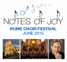 KIconcerts: Italy's Notes of Joy Choir Festival - Rome, June 2015