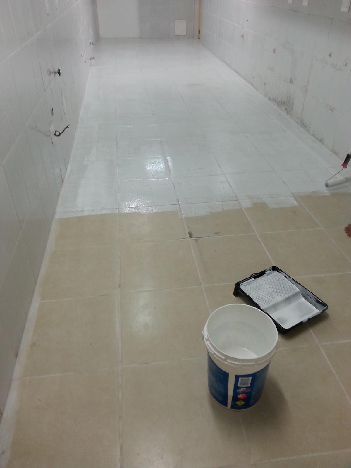 Pintura piso porcelanato cozinha tinta especial for Pintura azulejos barata