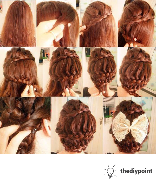 Hair Styles Diy #1.