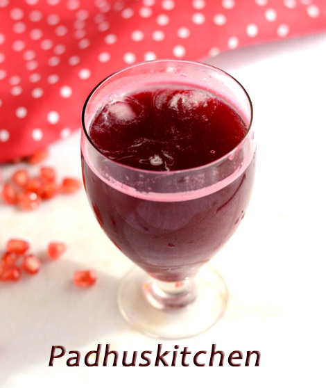 Pomegranate Beetroot juice