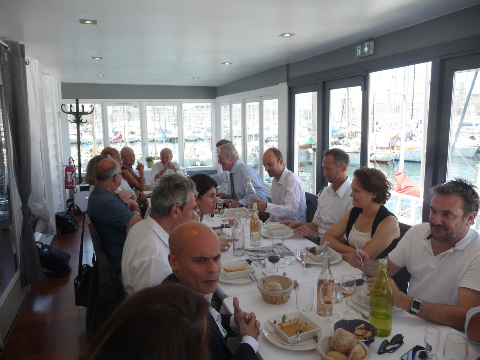 Imagine tours blog belgian business lunch et assembl e for Chambre de commerce franco turque