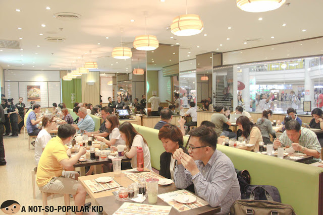 Tim Ho Wan Interior of Robinsons Place Manila Branch