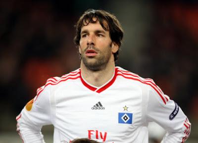 Van Nistelrooy é um dos craques com o posicionamento de centroavante