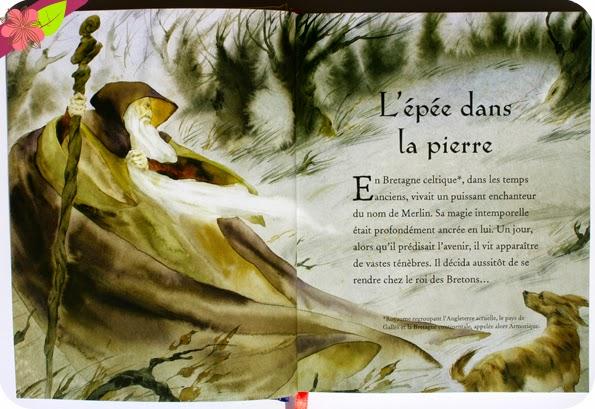 La légende du roi Arthur illustrée - éditions Usborne