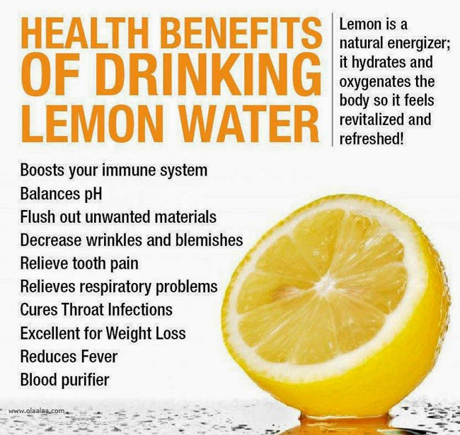 Real Benefit Of Drinking Hot Lemon Water