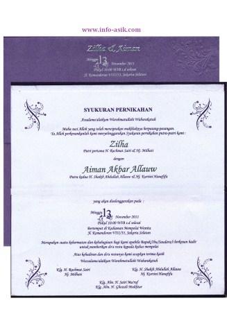 Contoh Undangan Syukuran Terlengkap dan Terbaru