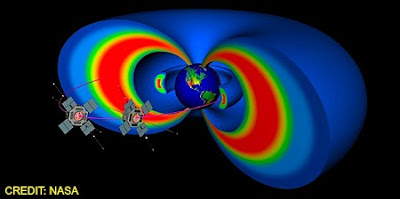 Heavily Shielded Twin spacecraft Will Enter Treacherous Van Allen Radiation Belts